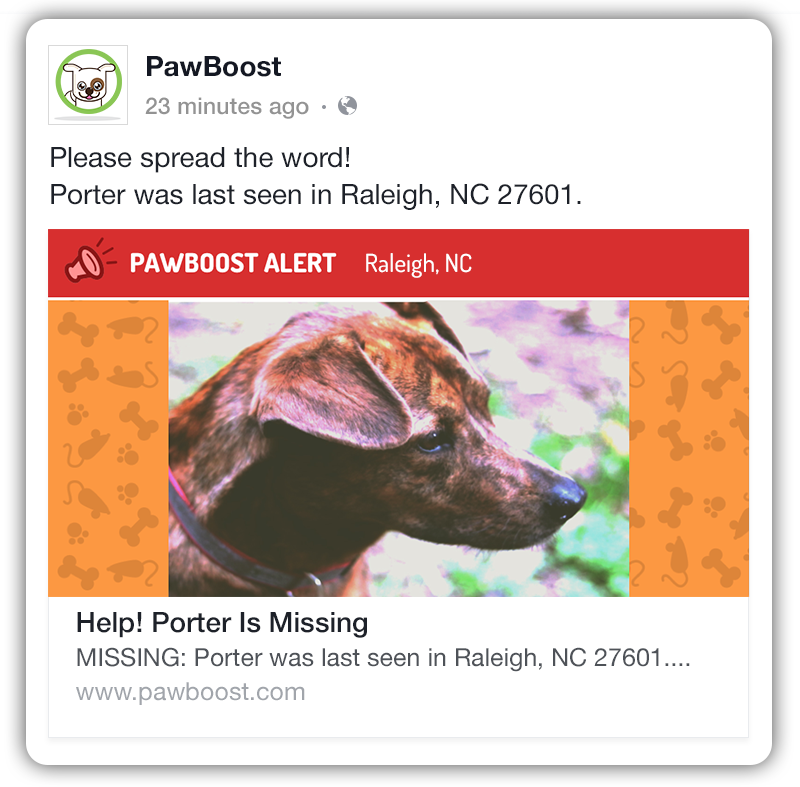 Pawboost Facebook Add